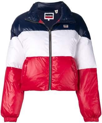 Levi's (リーバイス) - Levi's tri-stripe puffer jacket