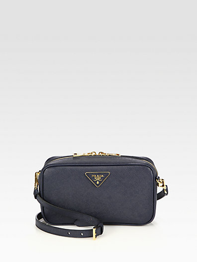 Prada Saffiano Lux Camera Crossbody