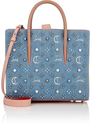 Christian Louboutin Women's Paloma Medium Denim Tote Bag