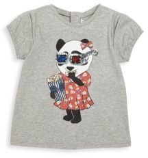 Little Marc Jacobs Little Marc Jacobs Baby's Panda Printed Tee