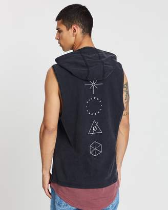 Silent Theory Shep Hooded Muscle Tank