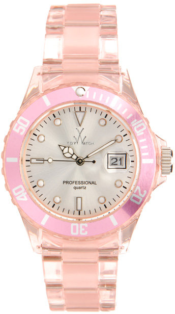 Toy Watch Pink Perspex toy watch
