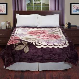 Lavish Home Heavy Thick Plush Mink Blanket, Eagle