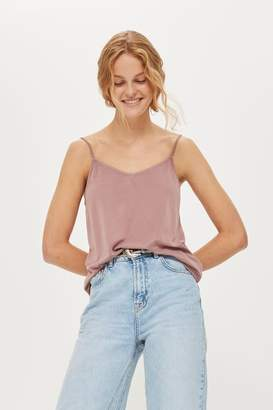 Topshop Cupro camisole top