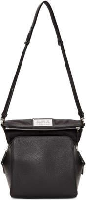 Maison Margiela Black Grained Camera Bag