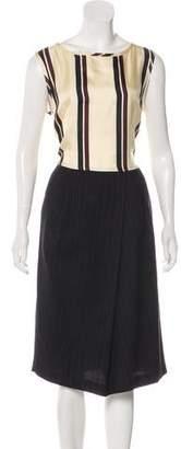 Dries Van Noten Striped Midi Dress