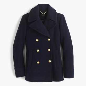 Tall majesty peacoat in stadium cloth $298 thestylecure.com