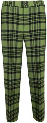 Aspesi Checkered Trousers