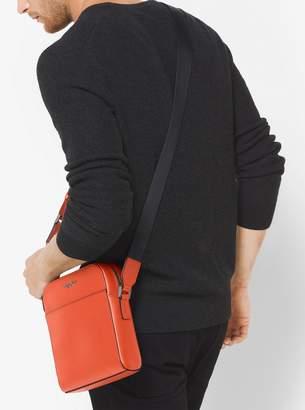 Michael Kors Harrison Leather Flight Bag