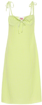 Solid & Striped Exclusive to Mytheresa gingham dress