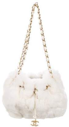 Chanel Fur Bucket Bag