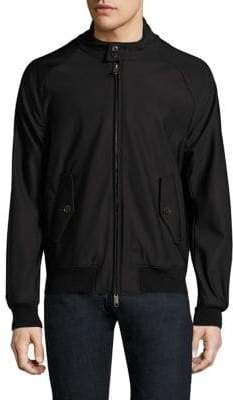 Baracuta Men's G9 Stand Collar Jacket - Black - Size 46 (36)