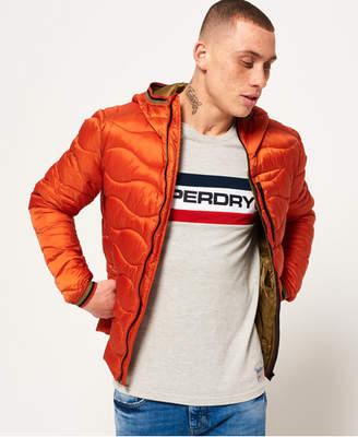 Superdry Wave Quilt Hooded Jacket