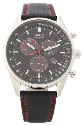 san francisco c3c1c 0893e Takeo Kikuchi(タケオ キクチ) ブラック メンズ 時計 ...