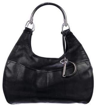 Christian Dior Leather 61 Hobo Black Leather 61 Hobo