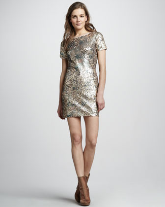 Rachel Zoe Janis Sequin Dress