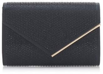 Dune Black 'Evaleen' Diamante Detail Clutch Bag