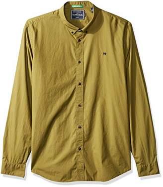 Scotch & Soda Men's Relaxed Fit Classic Crispy Poplin Shirt