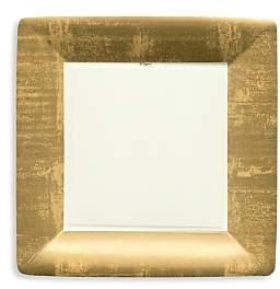 Gold Leaf Border Paper Dinner Plates, 8 Pack