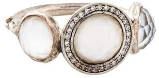 Ippolita Mother of Pearl, Quartz & Diamond Cocktail Ring