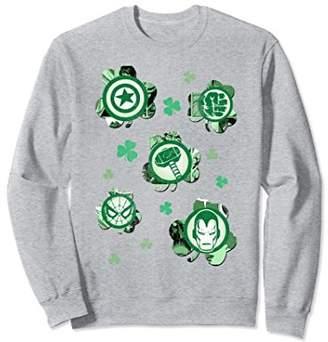 Marvel Shamrock Heroes Vintage St. Patrick's Sweatshirt