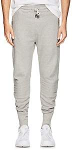 Blood Brother MEN'S STAND COTTON FLEECE JOGGER PANTS-GRAY SIZE M