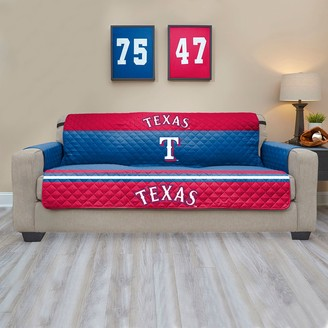 Texas Rangers Quilted Sofa Cover