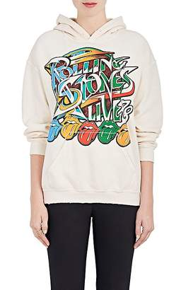 "Madeworn Women's ""Rolling Stones Live"" Cotton-Blend Fleece Hoodie"