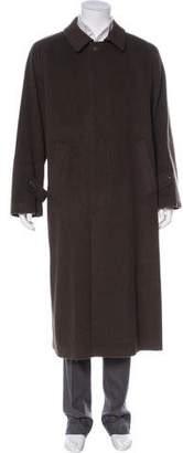 Paul Stuart Wool Trench Coat