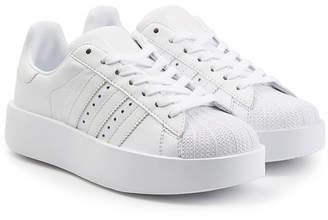 adidas Superstar Platform Leather Sneakers