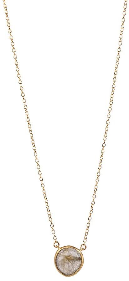 Anthra Gem Pendant Necklace