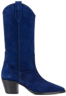 Paris Texas knee-length cowboy boots