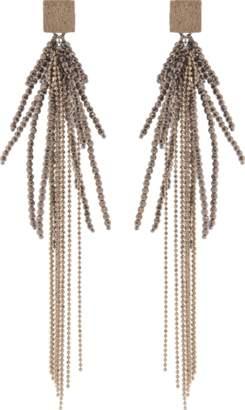 Brunello Cucinelli Monili Beaded Earrings