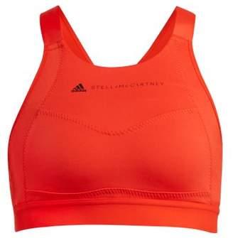 adidas by Stella McCartney Performance Essentials Bra - Womens - Red