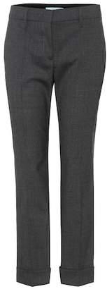 Prada Mid-rise virgin wool trousers