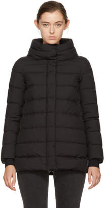 Herno Black Down A-Line Jacket