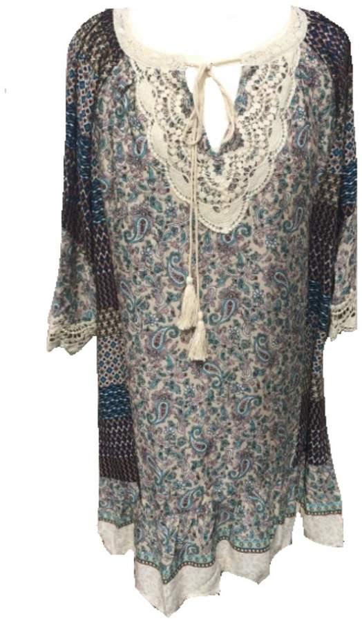 Umgee USA Colorful Boho Dress