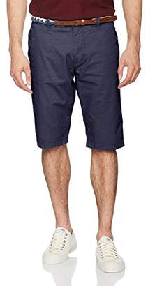 Tom Tailor Men's Bermuda with Belt Short,W31 (Manufacturer Size: 31)
