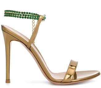 Gianvito Rossi rhinestone-embellished sandals