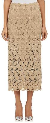 Robert Rodriguez Women's Lace Pencil Skirt