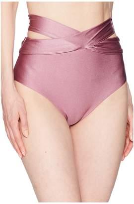 Becca by Rebecca Virtue Ballerina Wrap High-Waist Women's Swimwear