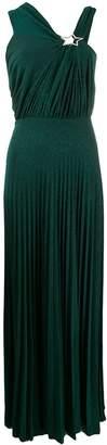 Elisabetta Franchi glitter embellished evening dress