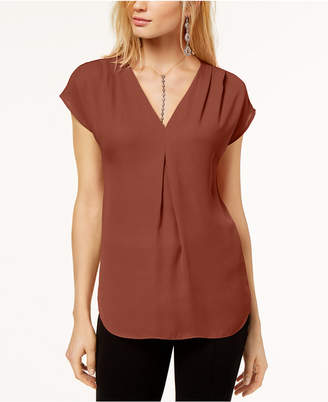 INC International Concepts Inc Petite Pleated Top