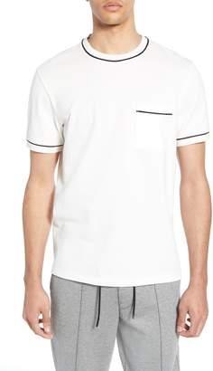 Club Monaco Trim Fit Cotton Pique T-Shirt