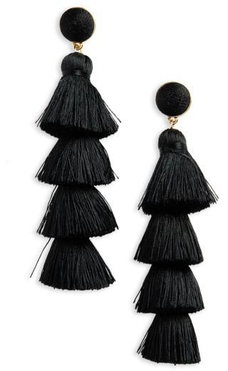 Women's Baublebar Antonella Tassel Fringe Earrings