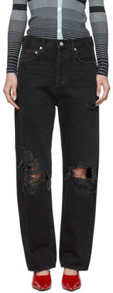 A Gold E Agolde Black 90s Loose Fit Jeans