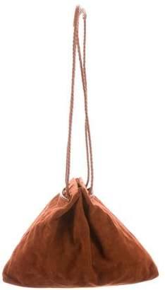Bottega Veneta Suede Drawstring Bag