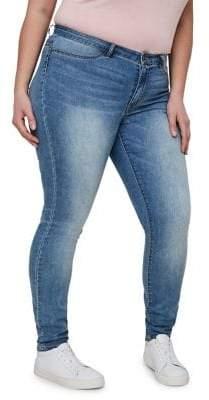 Junarose Plus Queen Normal Waist Slim Jeans
