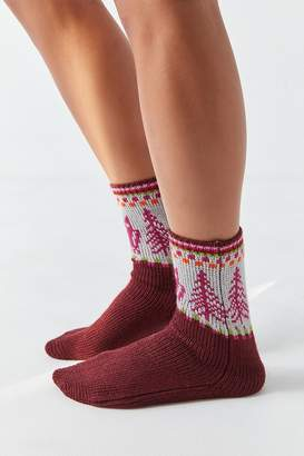 Out From Under Owl Boot Sock