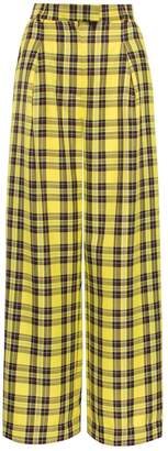 Vols & Original Reality Check Yellow High-Rise Trousers